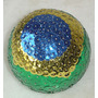 Bola Decorativa Decorada Bandeira Brasil -pr