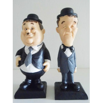 Estatueta Comediantes O Gordo E O Magro