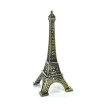 Torre Eiffel Paris Ferro Miniatura Tamanho 32 Cm
