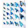 12 Borboletas 3d Tridimensionais - Decoração Parede Quartos