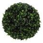 03 Buchinhos De 23 Cm - Topiarias Buxinho Grama Verdes Bolas
