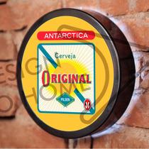 Luminoso / Luminária Parede Bar Com Led - Cerveja Antarctica