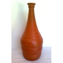 Moringa Garrafa Jarro Vaso Cerâmica Barro Decoração Rustica