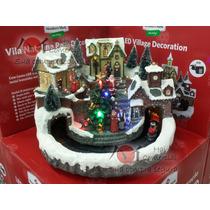 Decoração Enfeite Natal Vila Natalina Led 127v- Frete Gratis