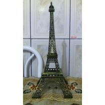 Enfeite De Decoração Torre Eiffel Paris 38cm Presente Natal