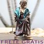 Estatua / Estatueta Velhinha Jogando Críquete - Bu178