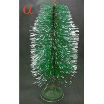 Mini Árvore De Natal Ponta Nevada 24cm.loja Alfa Presentes.