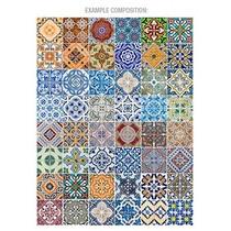 Painel Azulejo Português (não É Adesivo) 1m² (49 Azulejos)