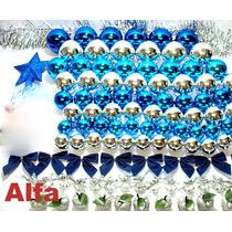 Kit 310pç Enfeite De Natal P/árvore 1,80 Á 2,10mts.lj Alfa.