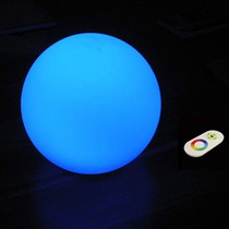Esfera Iluminada, 35 Cm, Led Rgb