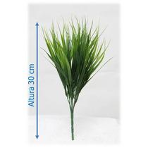 Flores Artificiais Importadas Bq Capim Vanilla 30cm - 4 Unid