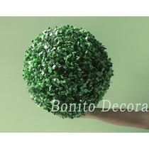 Buchinho Grande 38cm- Grama Bola Buxinho Topiaria Artificial