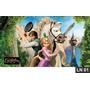 Enrolados Rapunzel Painel 3m² Lona Festa Banner Aniversario