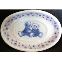Saboneteira Travessa Porcelana Decorativo Infantil