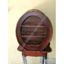 Adega P/ 10 Garrafas - Artesanato E Decoração Em Madeira