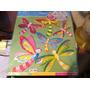Libélula/borboleta Decoração De Ambientes Cartela Com 6 Unid