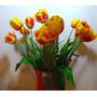 Flor Artificial Tulipa De Silicone