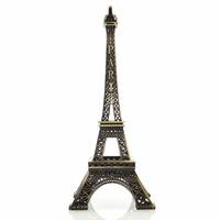 Enfeite Miniatura Metal Torre Eiffel Paris 38cm Brinde Festa