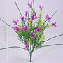 Bq Folhas Plásticas Várias Cores 38 Cm - Flores Artificiais
