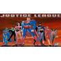 Painel Decoração De Festa Liga Da Justiça - 2x1