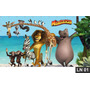Madagascar Painel 3m² Lona Banner Aniversario Decoração Fest