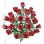 Buquê C/24 Rosas Vermelhas C/gypso 68 Cm (24293009) F/art