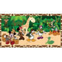 Painel Para Festa Infantil2x1m Mickey Safari Disney Mickey
