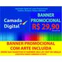 Banner Lanchonete Cabeleireiro Lava Rápido Escolas R$ 29,90