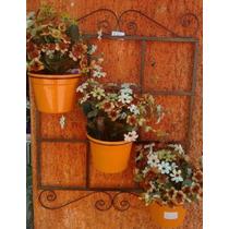 Suporte De Vasos Para Jardim Decoração Floreira Plantas