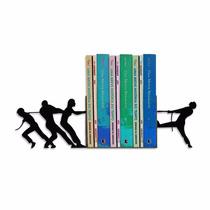 Aparador De Livros Cabo De Guerra Em Ferro Criativo Geguton