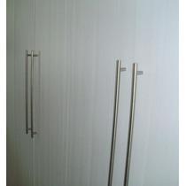 Puxador Armario Cozinha E Quarto Aço Inox 12,8cm