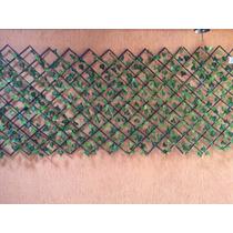 Treliça De Madeira Com Correntes De Era Artificial 2,2mts