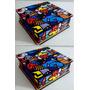 Kit 2 Caixas Adesivadas Romero Britto Decoração Mdf