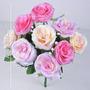 Buquê C/9 Flores Diversas Cores 35 Cm - Flor Artificial