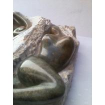 Linda Saboneteira Em Pedra Sabão Com Formato De Mulher ***