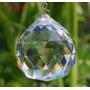 Kit 5 Esfera/ Bola De Cristal Multifacetada Feng Shui 40 Mm