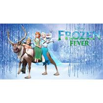 Painel Infantil, Banner Frozen, Frozen Fever, Frozen 2 Festa