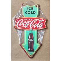 Placa Mdf Decoração Parede Seta Coca Cola Refrigerante Bar