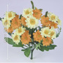 Mini Buquê De Margarida 29 Cm Diversa Cor - Flor Artificial