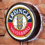 Luminoso / Luminária Parede Bar Com Led - Cerveja Erdinger