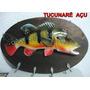 Peixe Tucunaré Porta Chaves (açu/amarelo/azul) Arte