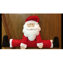 Enfeite Papai Noel Para Pendurar Na Porta - Natal Decoração