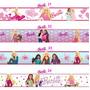 Adesivo Barbie Border Faixa Auto Colante 100x15 Em Vinil