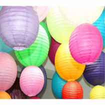 Balão Japonês Lanterna Tyotin Chinesa Coloridas Papel Hachi8
