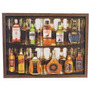 Quadro Relevo Adesivado Placa Whisky Ballantines, Jack Dania