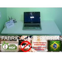 Mesa Dobrável P/ Parede-100c X 50l -mdf Branco- Frete Gratis