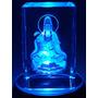Cristal Com Iluminação Kuanyin Mod 09431