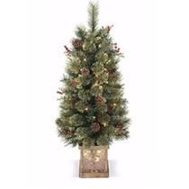 Árvore De Natal Exclusiva Iluminada Importada Design Luxuoso