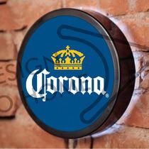 Luminoso / Luminária Parede Bar Com Led - Cerveja Corona