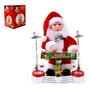Boneco Papai Noel Musical Piano 25 Cm Natal I830855
